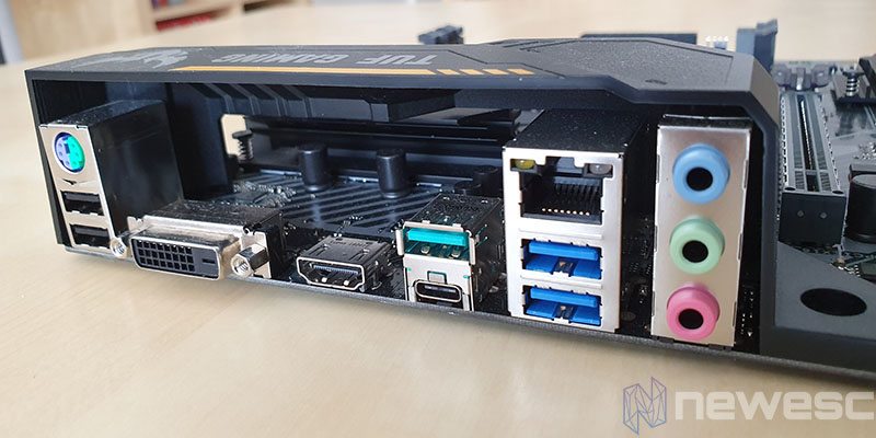 REVIEW ASUS TUF B450M PLUS GAMING IO SHIELD