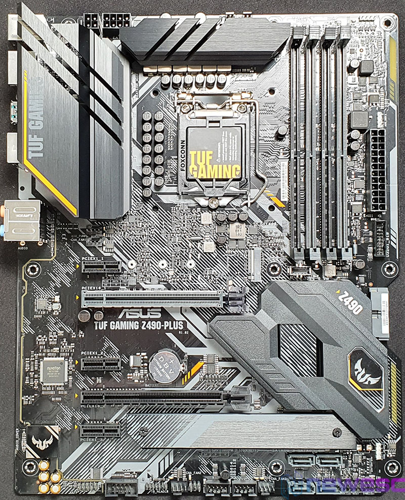 REVIEW ASUS TUF GAMING Z490 PLUS PLACA BASE DELANTE