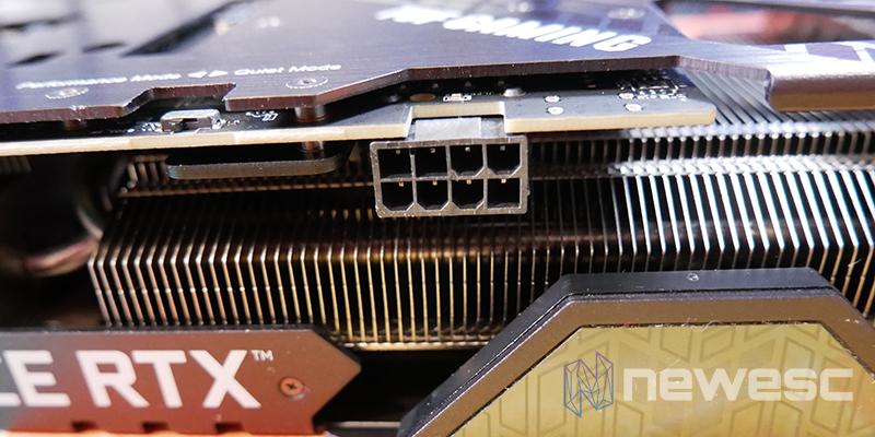 REVIEW ASUS TUF RTX 3060Ti OC CONECTOR PCI