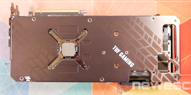 REVIEW ASUS TUF RX 6800 XT BACKPLATE