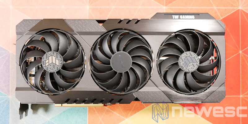 REVIEW ASUS TUF RX 6800 XT FRONTAL