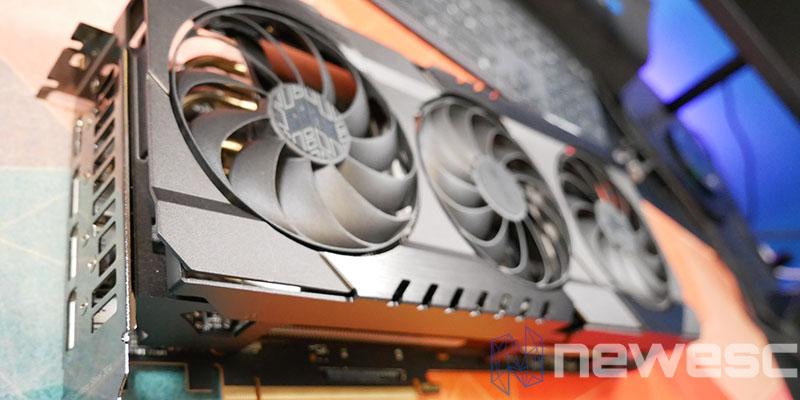 REVIEW ASUS TUF RX 6800 XT VENTILADORES