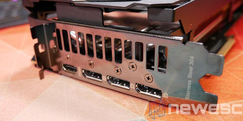 REVIEW ASUS TUF RX 6800 XT salida de video