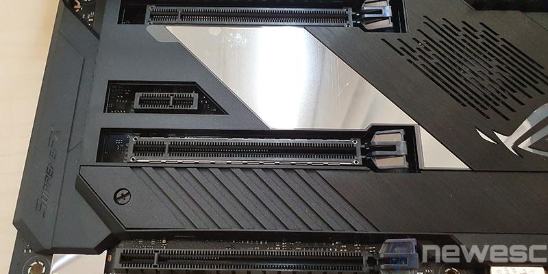 REVIEW ASUS X570 FORMULA PCIE CONEXIONES INTERNAS