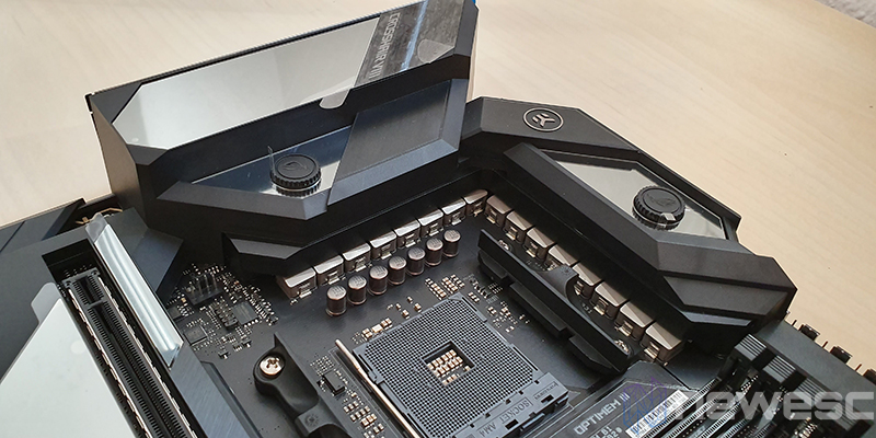 REVIEW ASUS X570 FORMULA SOCKET Y VRM