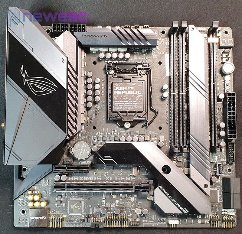 REVIEW ASUS Z390 GENE PCB COMPLETO