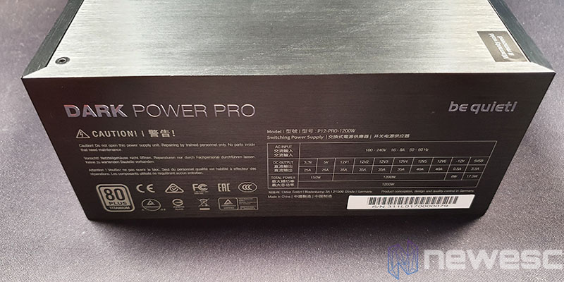 REVIEW BE QUIET DAR POWER PRO 12 LATERAL FUENTE 1