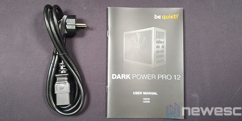 REVIEW BE QUIET DAR POWER PRO 12 MANUAL Y CABLE C19
