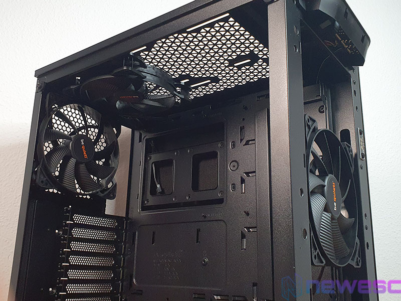 REVIEW BE QUIET PURE BASE 500DX INTERIOR