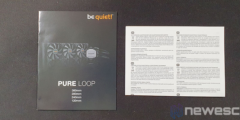 REVIEW BE QUIET PURE LOOP 280 MANUAL