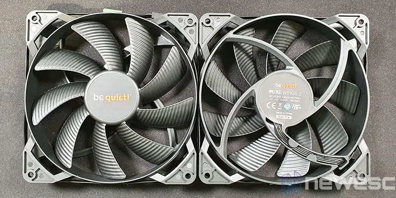 REVIEW BE QUIET PURE LOOP 280 PURE WINGS 2