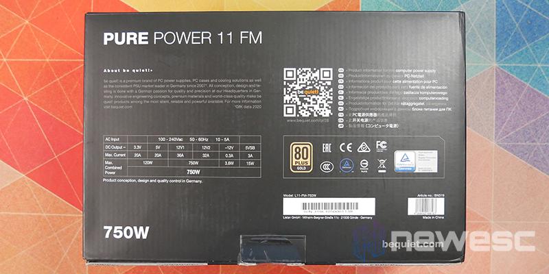 REVIEW BE QUIET PURE POWER 11 FM CAJA DETRAS