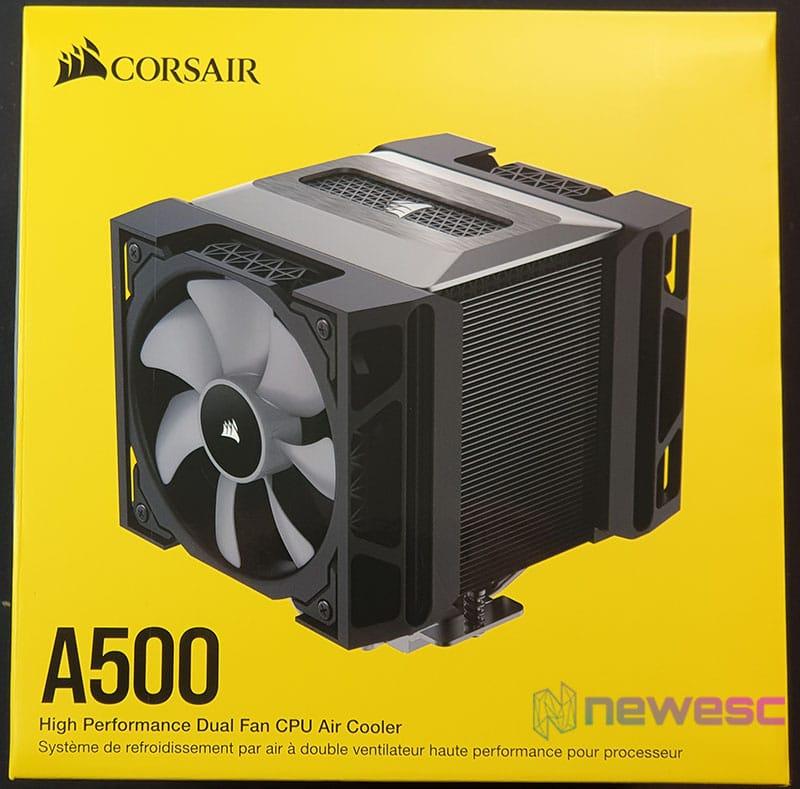 REVIEW CORSAIR A500 caja