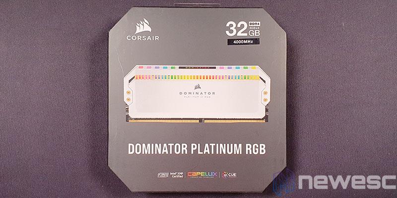 REVIEW CORSAIR DOMINATOR PLATINUM RGB CAJA DELANTE
