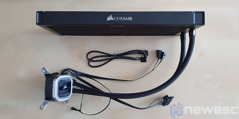 REVIEW CORSAIR H115I RGB PLATINUM AIO COMPLETA