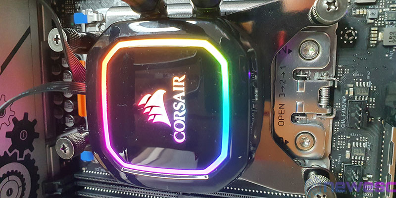 REVIEW CORSAIR ICUE H100I RGB PRO XT INSTALACION FINAL
