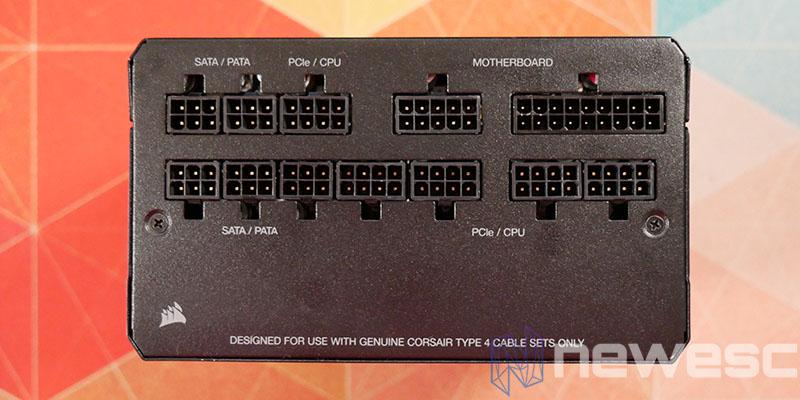 REVIEW CORSAIR RM850X INTERNO CONECTORES MODULARES
