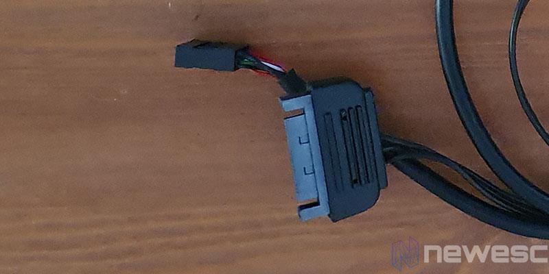 REVIEW CORSAIR SP120 PRO RGB CONECTORES SATA Y USB