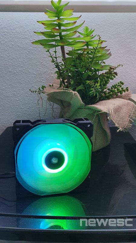 REVIEW CORSAIR SP120 PRO RGB VENTILADORES funcionamiento