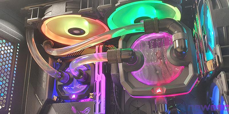 REVIEW CORSAIR XD3 RGB INSTALADA