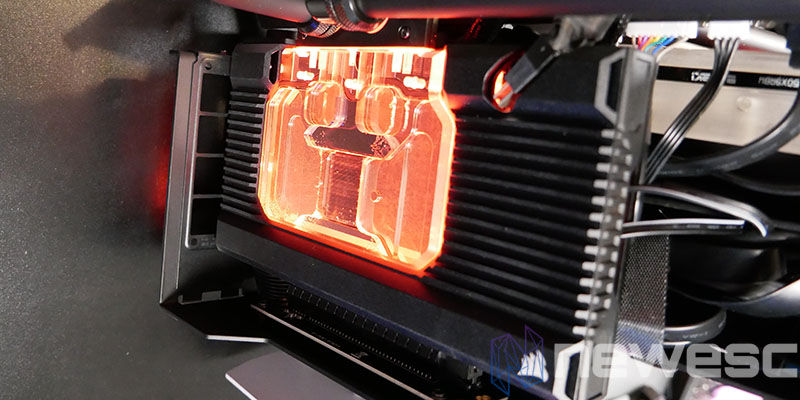 REVIEW CORSAIR XG7 BLOQUE INSTALADO