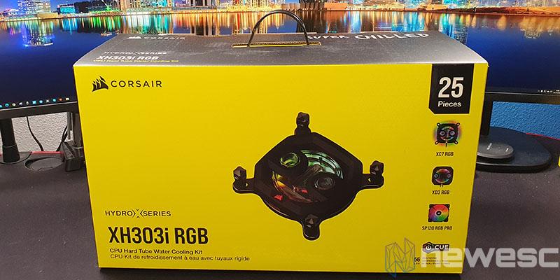 REVIEW CORSAIR XH303I RGB CAJA DELANTE