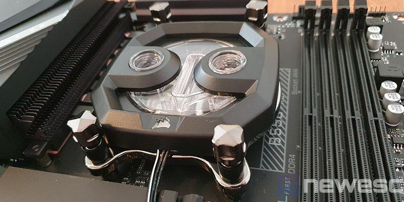 REVIEW CORSAIR XH303I RGB INSTALACION BLOQUE CPU