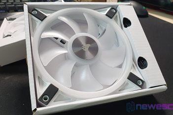 REVIEW CORSAIR iCUE QL 120 RGB WHITE DESTACADA