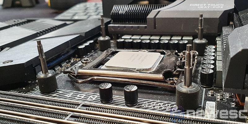 REVIEW EKWB EK AIO 240 D RGB BLOQUE CPU INSTALACION 2