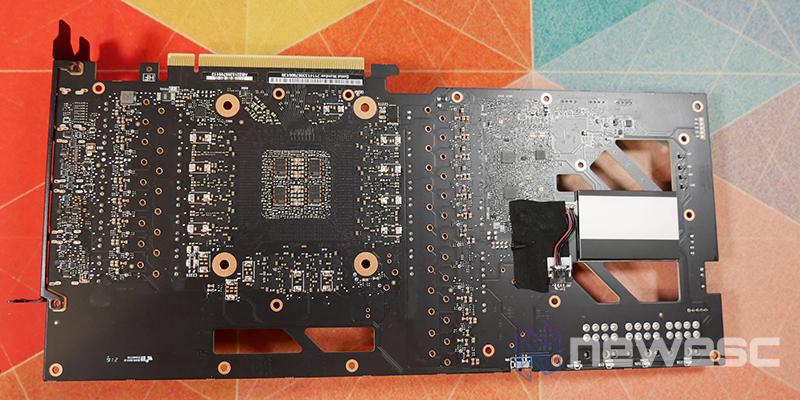 REVIEW EVGA RTX 3080Ti FTW3 ULTRA PCB DETRAS