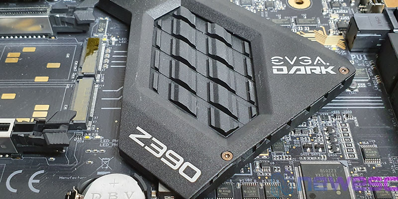 REVIEW EVGA Z390 DARK CHIPSET