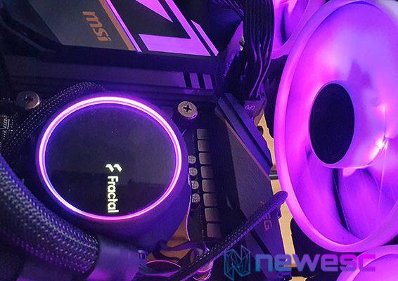REVIEW FRACTAL DESING CELSIUS S36 PRISMA RGB DESTACADA