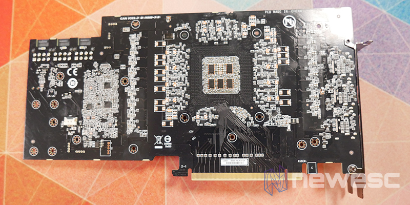 REVIEW GIGABYTE AORUS RTX 3080 XTREME 10G PCB DETRAS