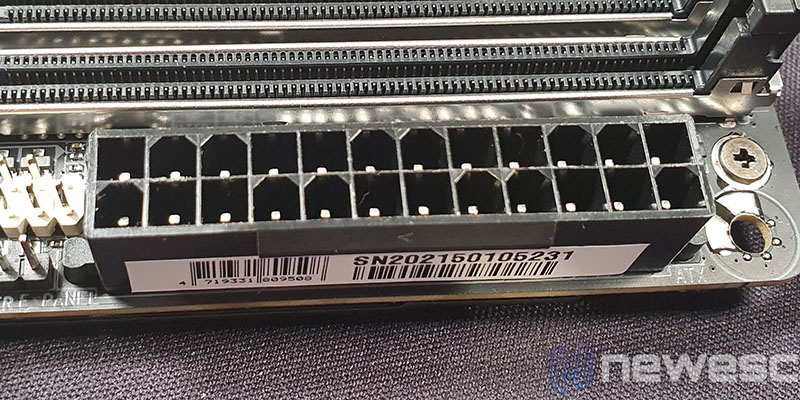 REVIEW GIGABYTE B550I AORUS PRO AX CONECTOR 24PINES