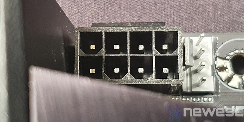 REVIEW GIGABYTE B550I AORUS PRO AX CONECTOR EPS