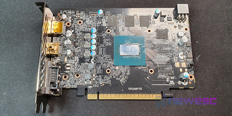 REVIEW GIGABYTE GTX 1650 SUPER WINDFORCE OC 4G PCB