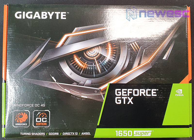 REVIEW GIGABYTE GTX 1650 SUPER WINDFORCE OC 4G caja