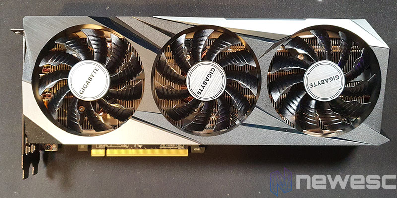 REVIEW GIGABYTE RTX 3070 GAMING OC FRONTAL CON VENTILADORES