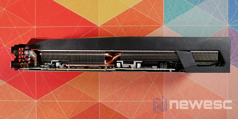 REVIEW GIGABYTE RTX 3080Ti GAMING OC LATERAL INTERNO