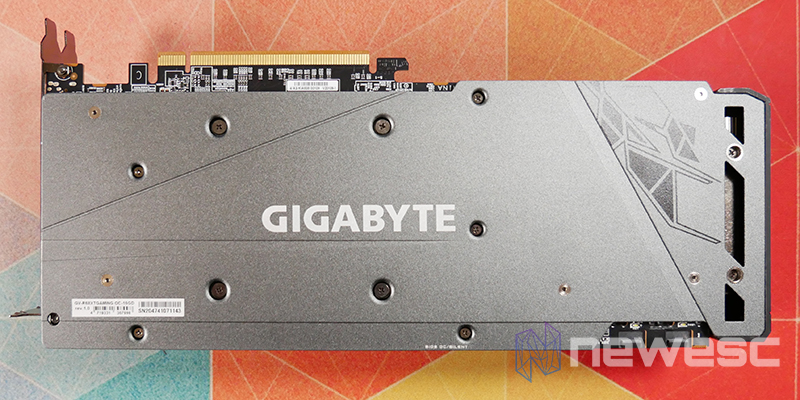 REVIEW GIGABYTE RX 6800 XT GAMING OC BACKPLATE