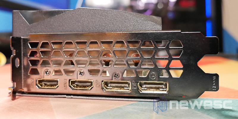 REVIEW GIGABYTE RX 6800 XT GAMING OC CONEXIONES EXTERNAS