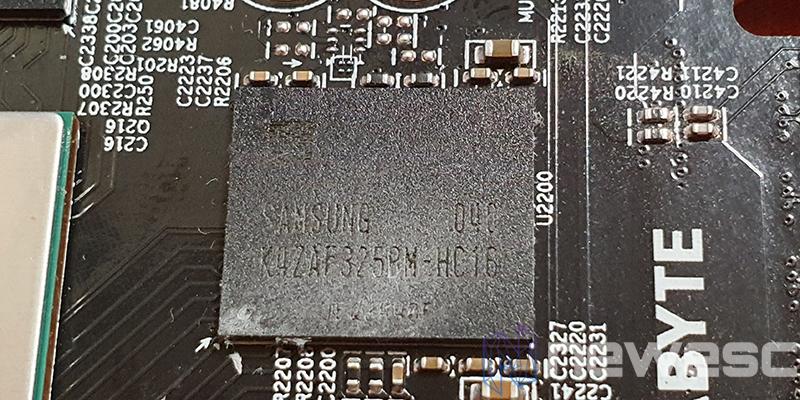 REVIEW GIGABYTE RX 6800 XT GAMING OC MEMORIAS GDDR6
