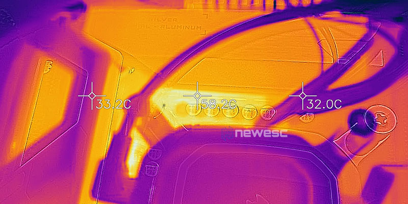 REVIEW GIGABYTE Z590 VISION G TEMPERATURAS