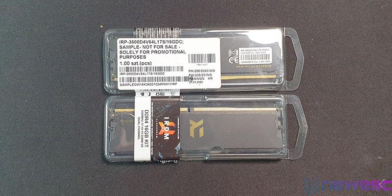 REVIEW GOODRAM IRDM PRO DDR4 BLISTER
