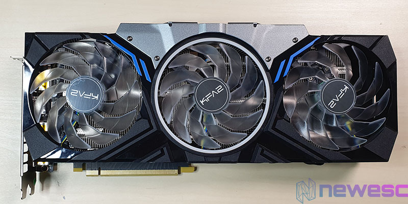 REVIEW KFA2 RTX 2070 SUPER WTF FRONTAL VENTILADORES