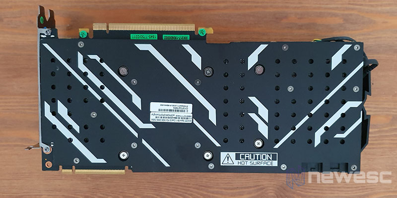 REVIEW KFA2 RTX 2080 SUPER EX BACKPLATE