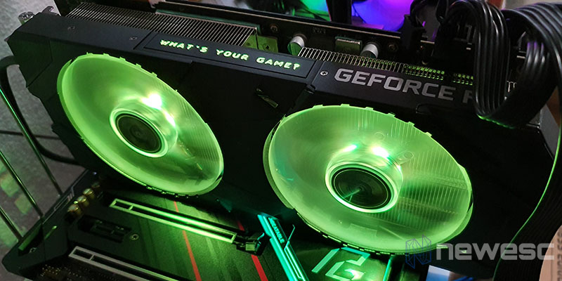 REVIEW KFA2 RTX 2080 SUPER EX LEDS