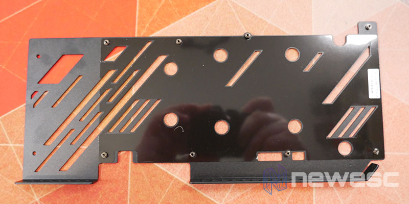 REVIEW KFA2 RTX 3060 EX BACKPLATE