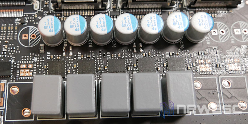 REVIEW KFA2 RTX 3060 EX MOSFETS CHIPSET