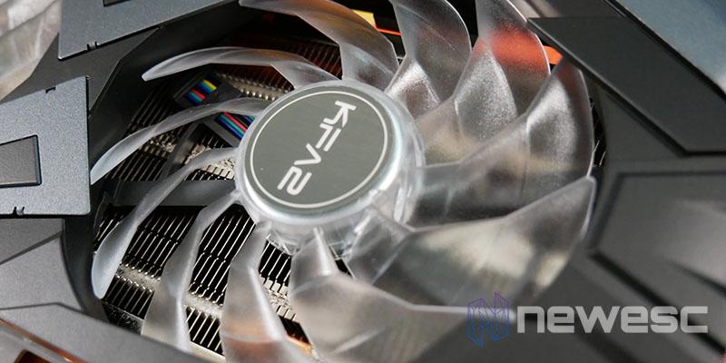 REVIEW KFA2 RTX 3060 EX VENTILADOR